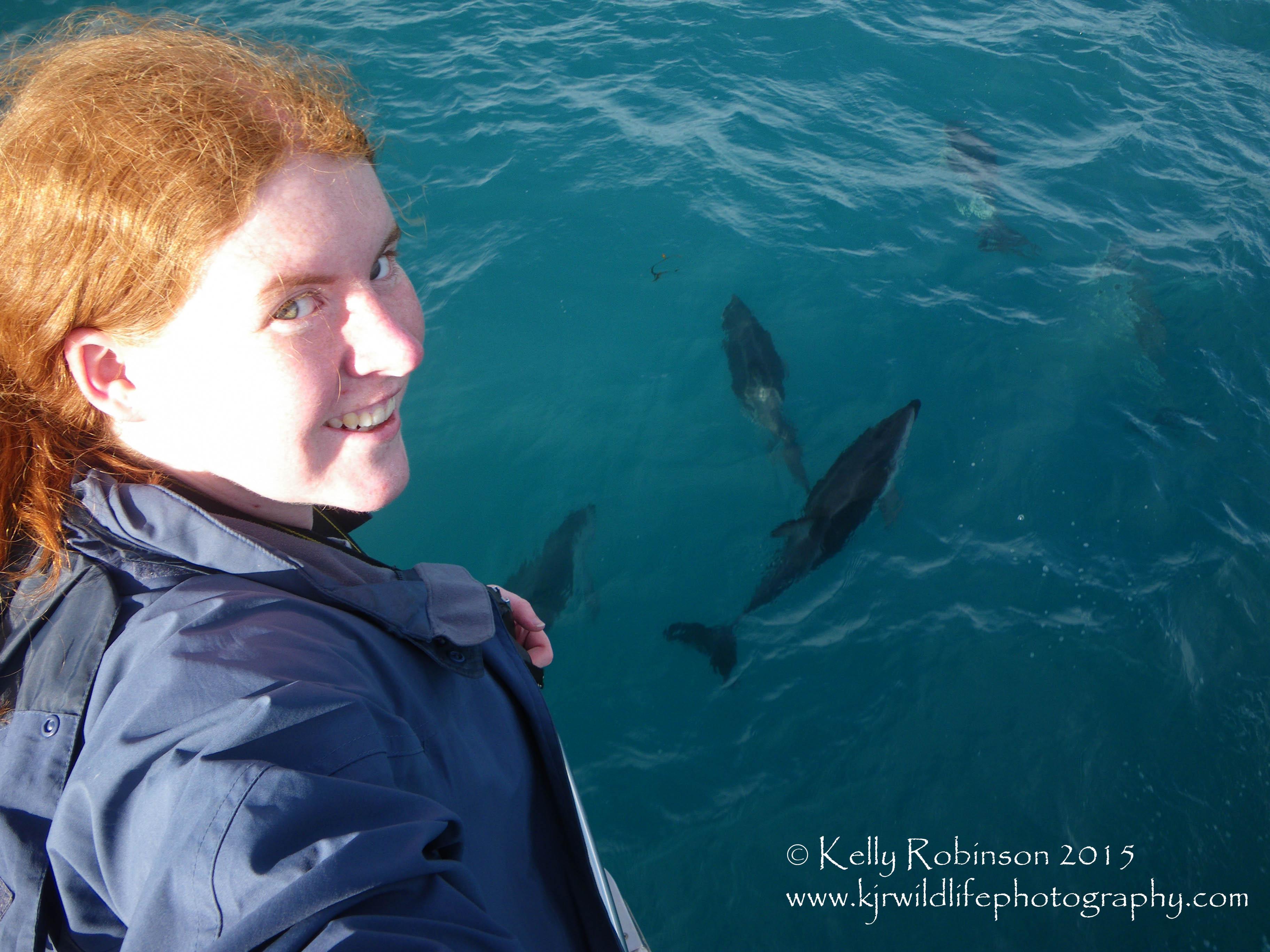 Dusky Dolphins and Kelly Robinson